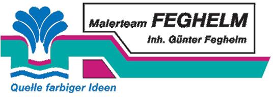 Malerteam Feghelm | 74626 Bretzfeld | Hohenlohe Logo